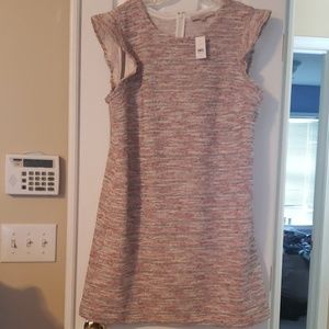 Coral print dress